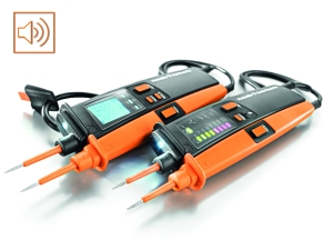 We have equipped our second-generation two-pole voltage testers with extra functions and made even more improvements to its product range. New: the built-in, acoustic buzzer function on 15mm version probes.