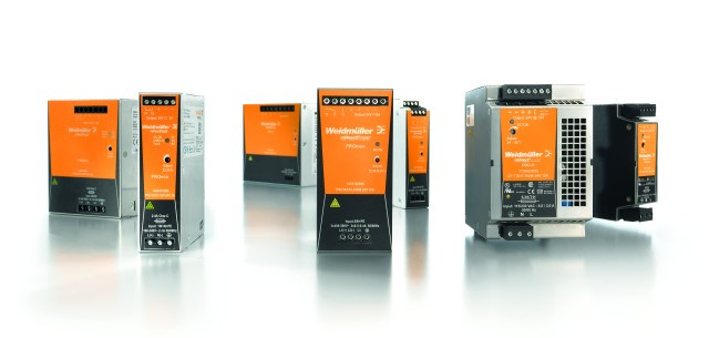 "Three families of switched-mode power supply units form the basis for reliable power supply concepts: PROeco – ""the economical options""; PROmax – ""the powerhouses"" and PRO-H – ""the specialists"" (from left to right)"