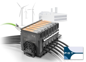 """Weidmüller ACT20C current measuring transducer for strategic monitoring and optimisation of systems and processes. The """"smart software configuration"""" is based on FDT2 standards"""