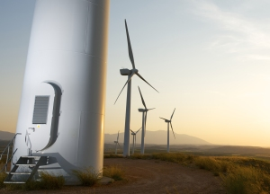 Wind turbines are a typical application field for the ACT20C station with current measuring transducers