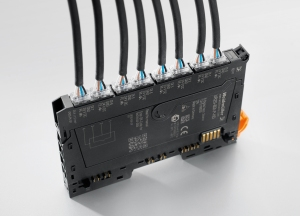 "u-remote input and output modules with HD technology combine 32 conductor connections on just one module with the option of individually plugging in eight sensors or actuators. Together with the narrowest module design on the market, ""u-remote"" achieves by far the greatest connection density, resulting in much smaller system add-ons."