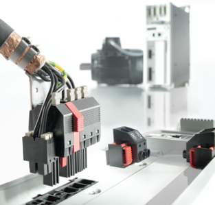 Work quickly while avoiding errors - convenient connectivity solutions with latchable open terminal point reduces the installation time in the field significantly for example in frequency inverters.